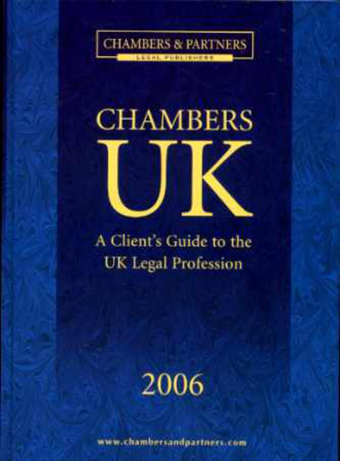 Image for Chambers UK 2006  - A Client's Guide to the UK Legal Profession