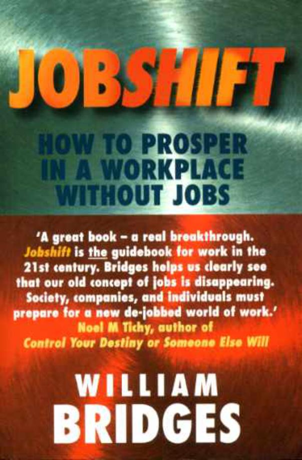 Image for Jobshift - How to Prosper in a Workplace Without Jobs