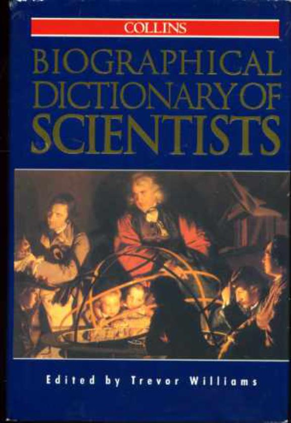 Image for Collins Biographical Dictionary of Scientists