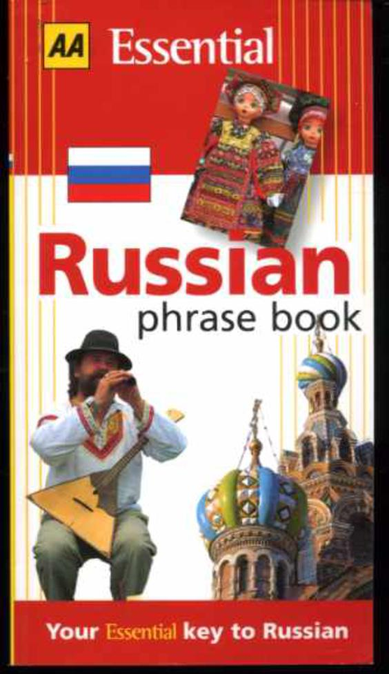 Image for Russian Phrase Book