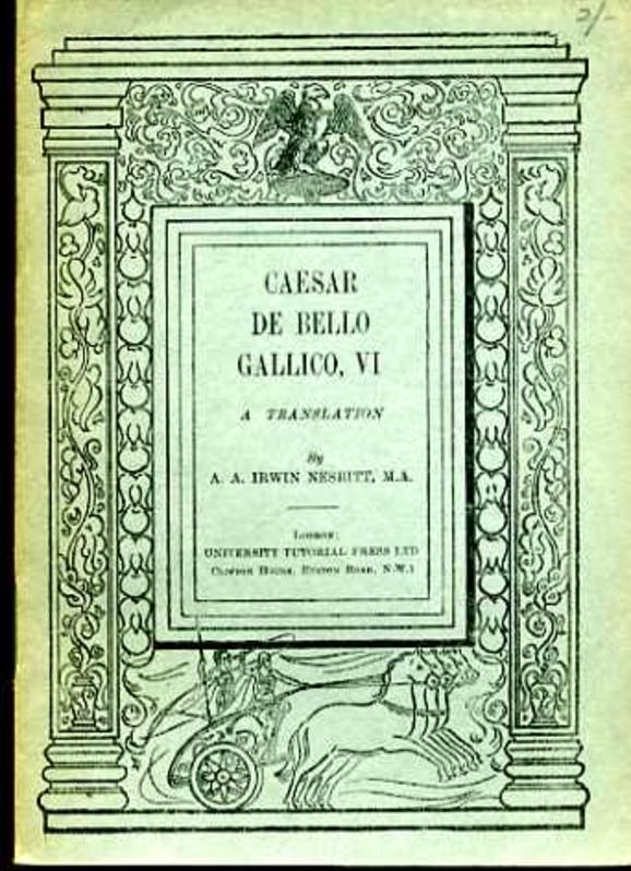 Caesar De Bello Gallico Vi A Translation