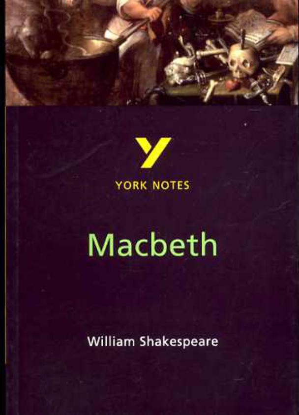 """Image for York Notes on William Shakespeare's """"Macbeth"""""""