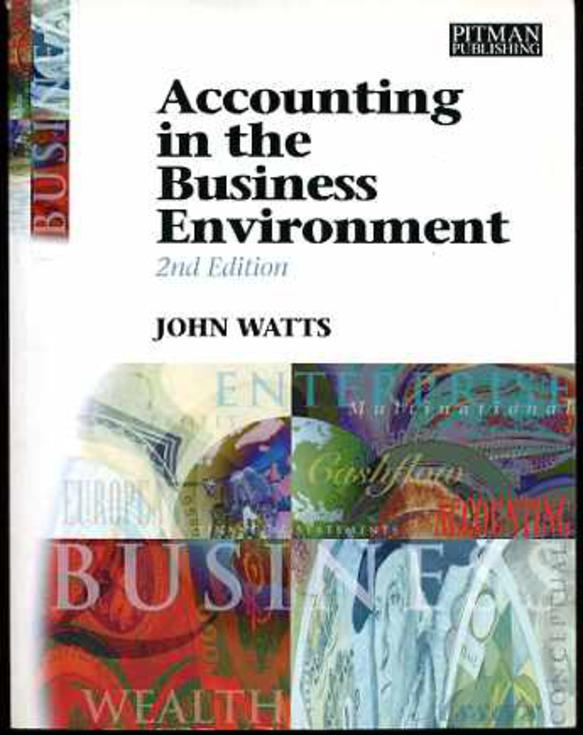Image for Accounting in the Business Environment