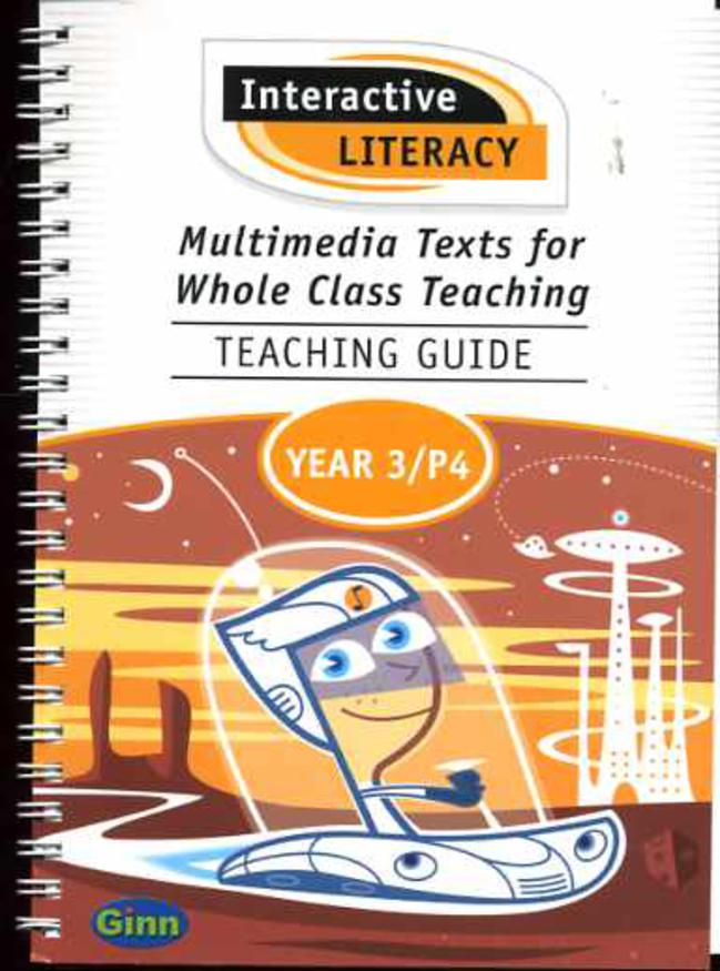 Image for Multimedia Texts for Whole Class Teaching : Teaching Guide