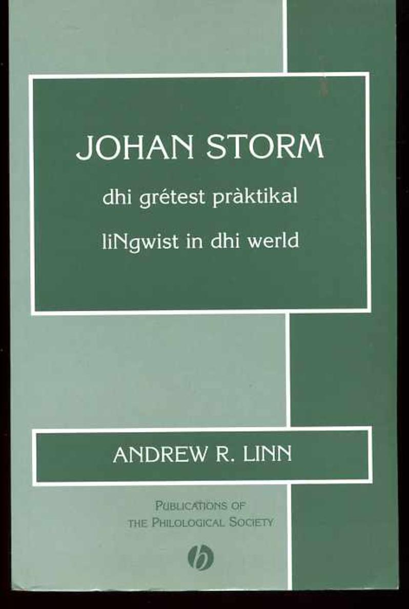 Image for Johan Storm: Dhi Gretest Praktikal Linswist in Dhi Werld