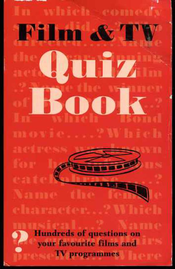 Image for Film and TV Quiz Book