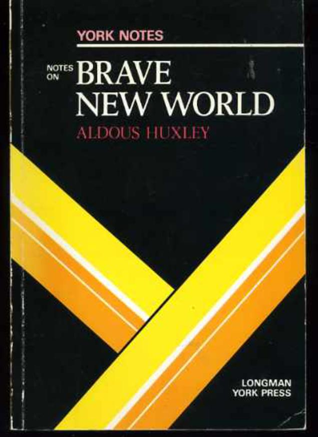 "Image for Notes on Huxley's ""Brave New World"""