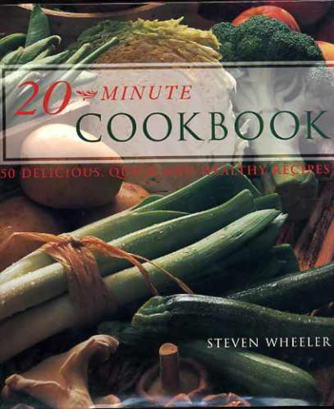 Image for 20 Minute Cookbook
