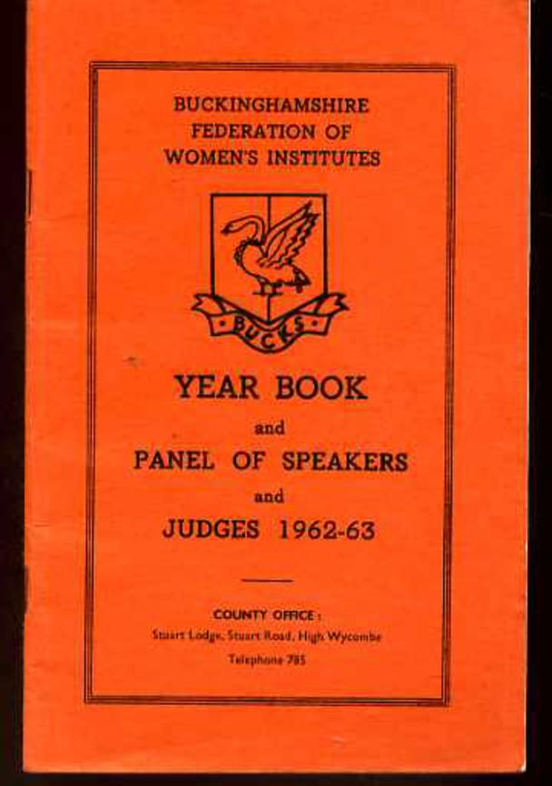Image for Year Book and Panel of Speakers and Judges 1962-63