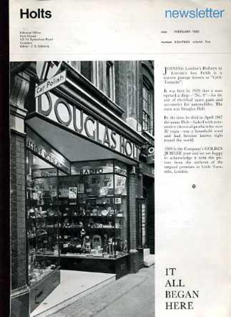 Image for Holts Newsletter February 1969 Number 18 Vol 5