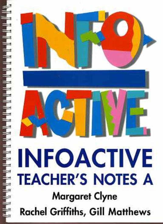 Image for Info Active Teachers Notes A