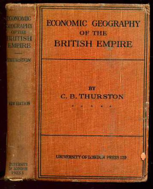 Image for An Economic Geography of the British Empire