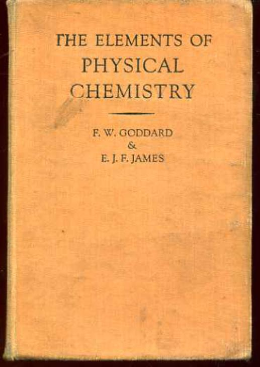 Image for The Elements of Physical Chemistry