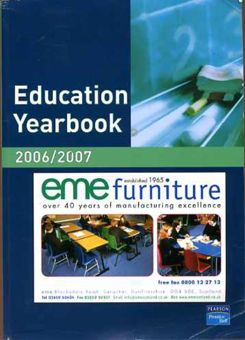Image for Education Yearbook 2006/2007