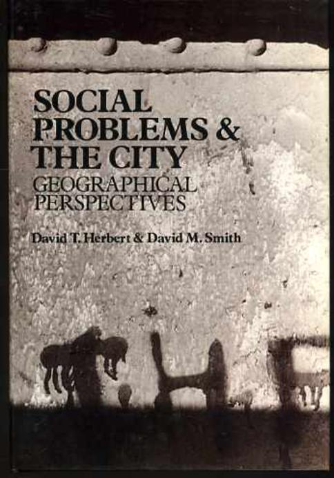 Image for Social Problems and the City: Geographical Perspectives