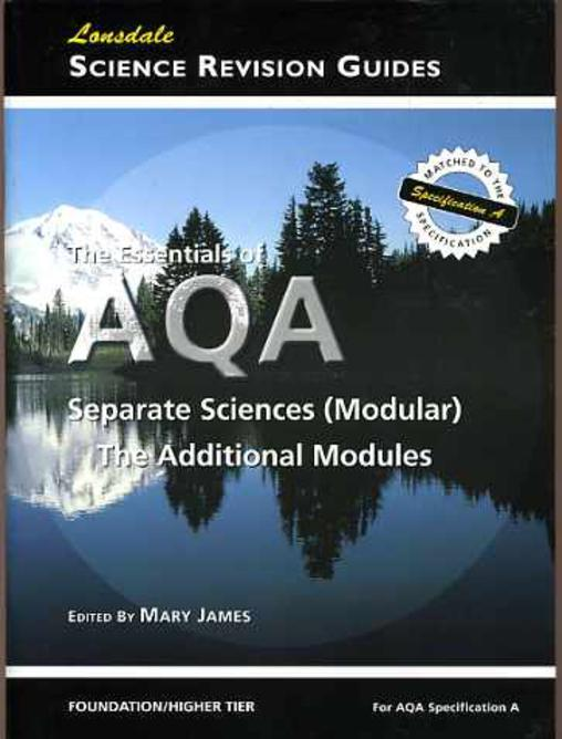 Image for Essentials of AQA Separate Sciences (Modular), The: The Additional Modules