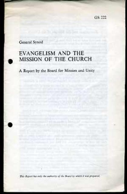Image for Evangelism and the Mission of the Church