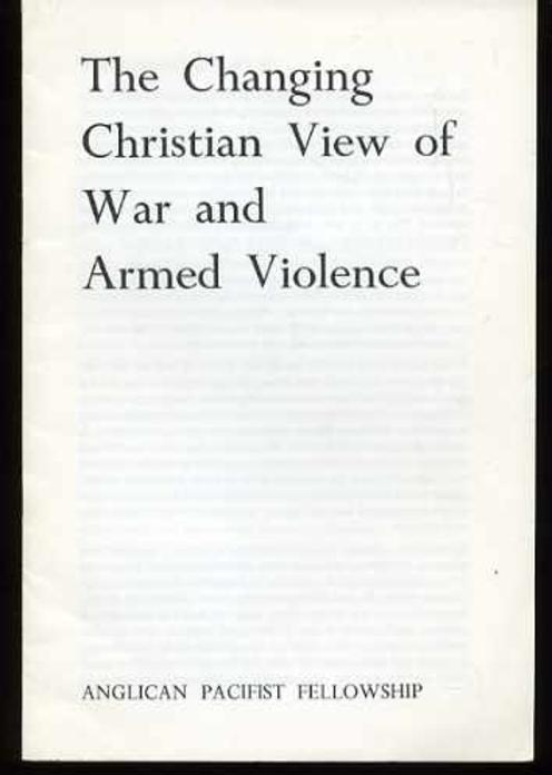 Image for The Changing Christian View of War and Armed Violence