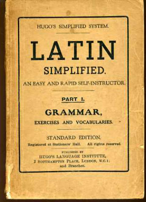Image for Latin Simplified : Part I Grammar
