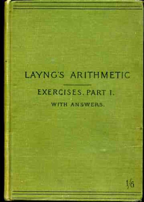 Image for Exercises in Arithmetic Part 1