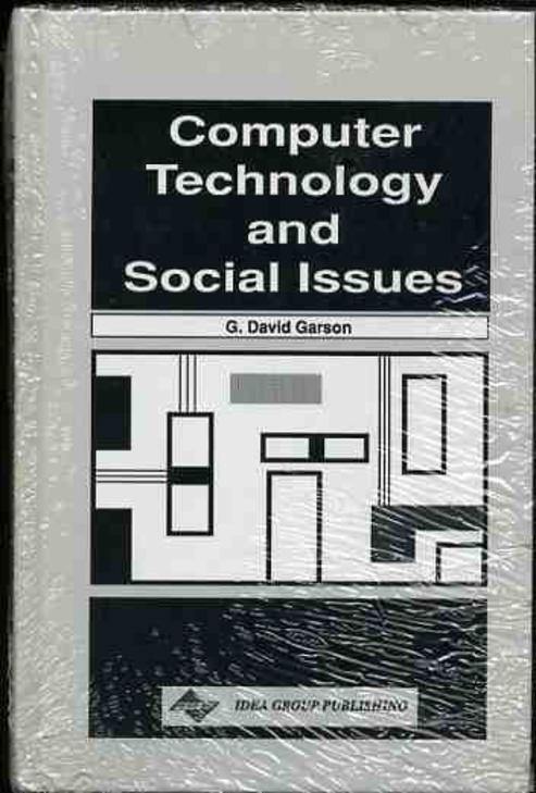 Image for Computer Technology and Social Issues