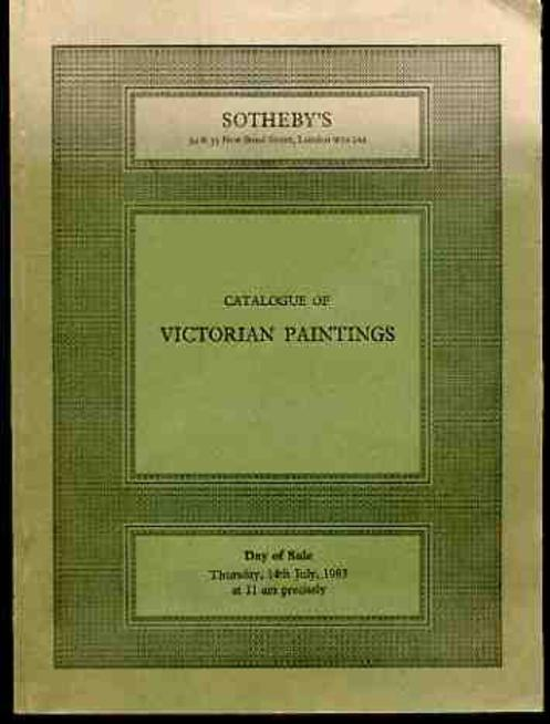 Image for Sotheby's Catalogue of Victorian Paintings