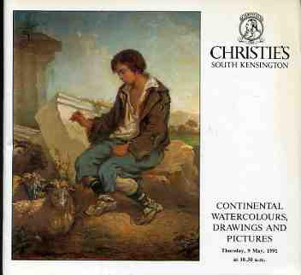 Image for Continental Pictures, Drawings and Watercolours of the 19th and 20th Centuries