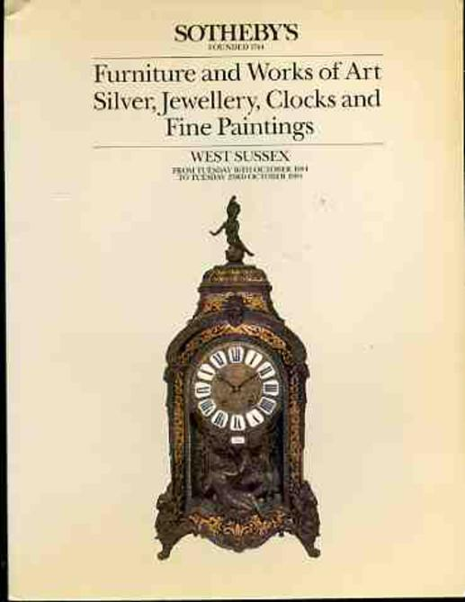 Image for Furniture and Works of Art Silver, Jewellery, Clocks and Fine Paintings