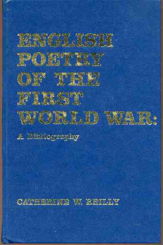 Image for English Poetry of the First World War: A Bibliography