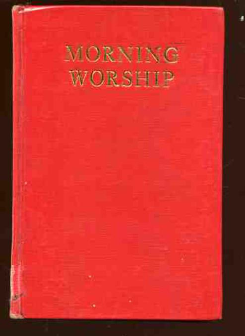 Image for Morning Worship - a Collection of Hymns and Spiritual Songs