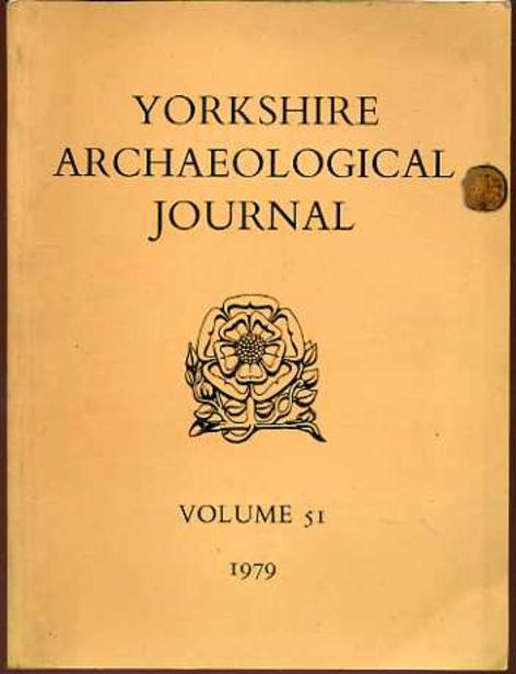 Image for The Yorkshire Archaeological Journal Volume 51 1979