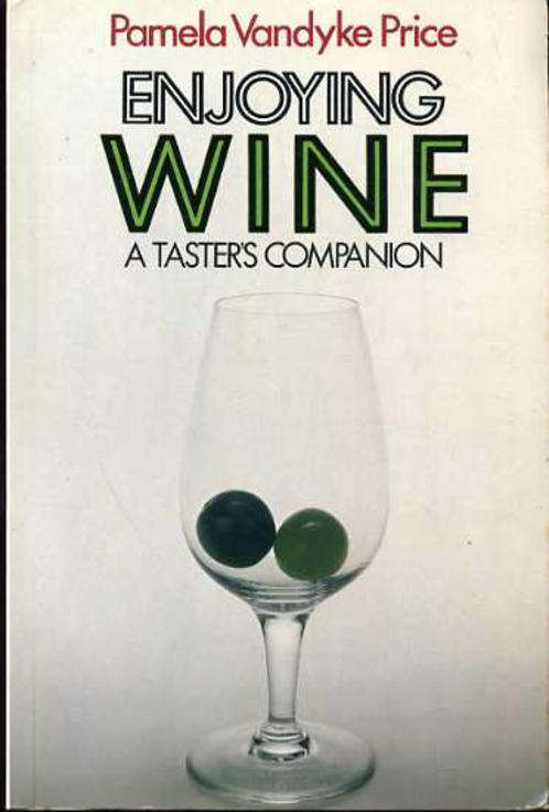 Image for Enjoying Wine : A Taster's Companion