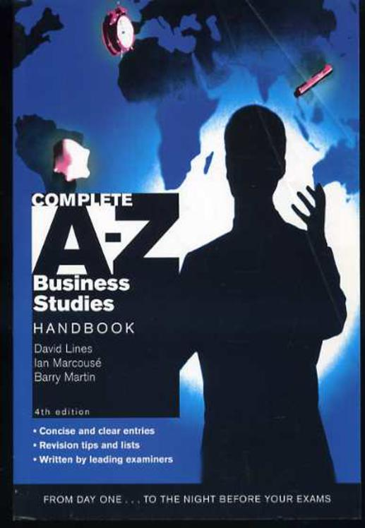Image for A-Z Business Studies Handbook