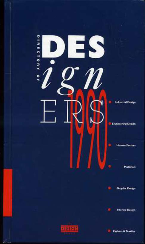 Image for Directory of Designers, 1990