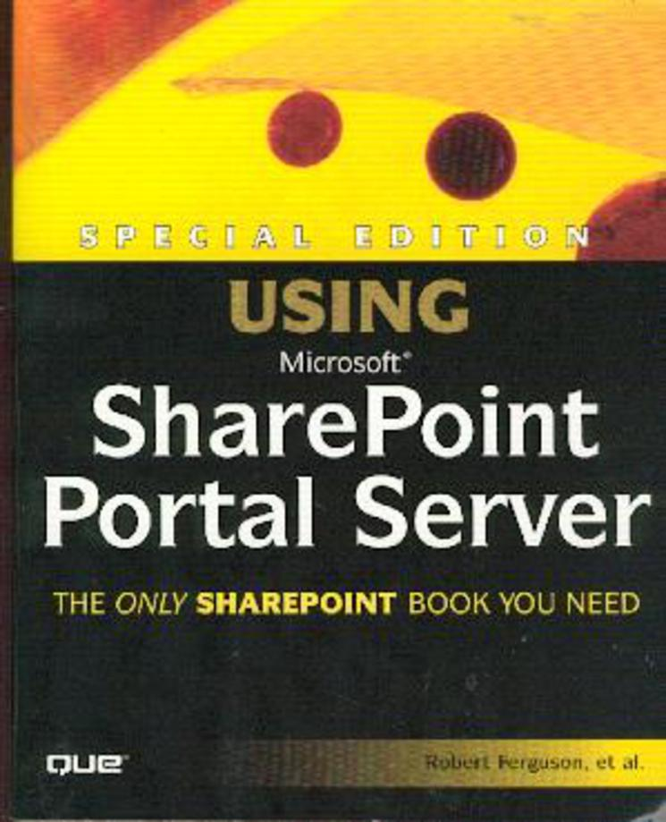 Image for Special Edition Using Microsoft Sharepoint Portal Server 2001.