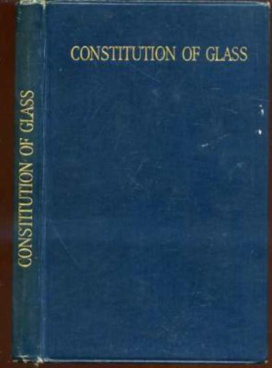 Image for The Constitution of Glass