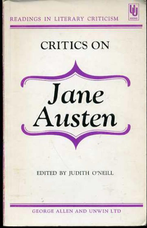 Image for Critics on Jane Austen