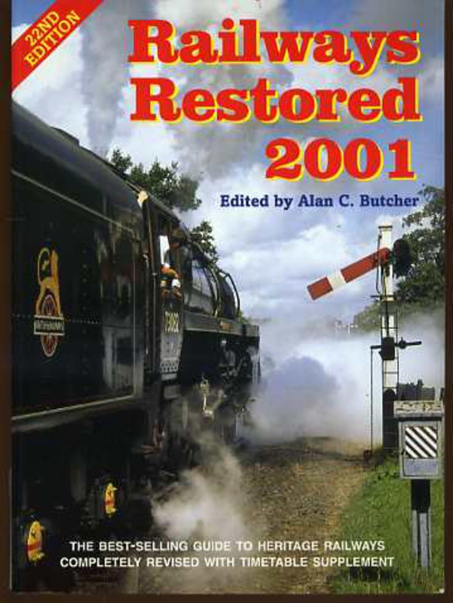 Image for Railways Restored 2001 with Timetable Supplement