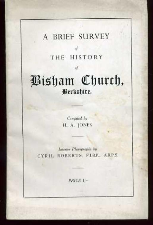 Image for A Brief Survey of the History of Bisham Church, Berkshire