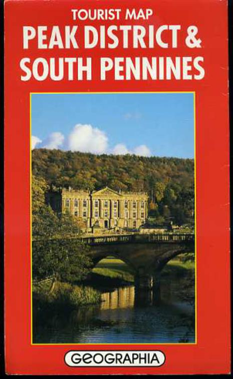 Image for Tourist Map - Peak District & South Penines