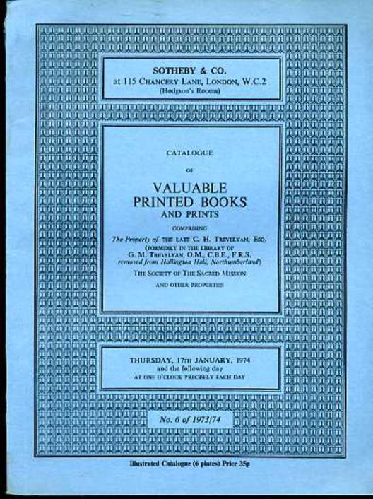 Image for Catalogue of Valuable Printed Books & Prints