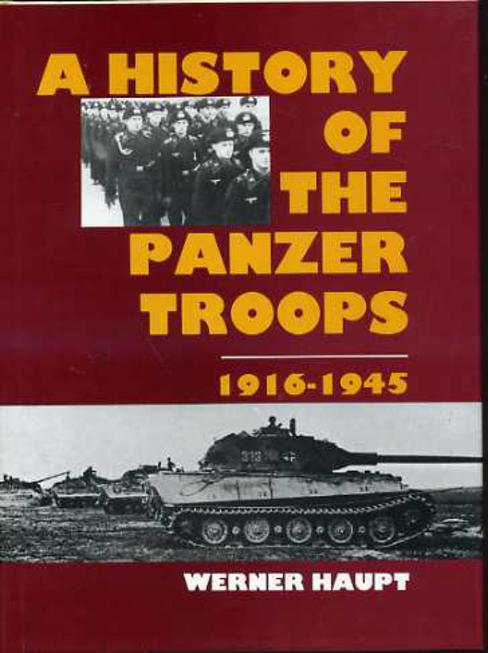 Image for A History of the Panzer Troops, 1916-1945