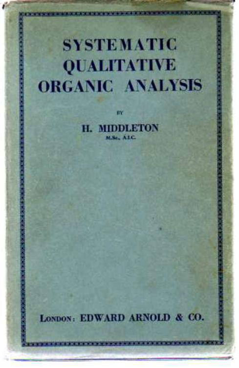 Image for Systematic Qualitative Organic Analysis