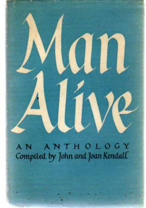 Image for Man Alive - an Anthology