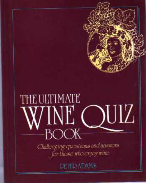 Image for Ultimate Wine Quiz Book