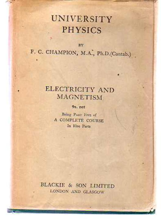 Image for University Physics Part Five - Electricity and Magnetism