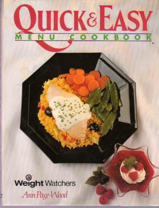 Image for The Quick & Easy Menu Cookbook