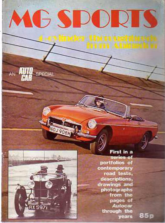Image for M. G. Sports: 4-cylinder Thoroughbreds from Abingdon (An 'Autocar' special)