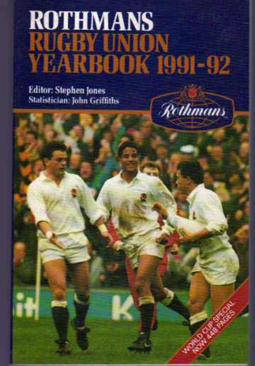 Image for Rothmans Rugby Union Year Book 1991 - 1992