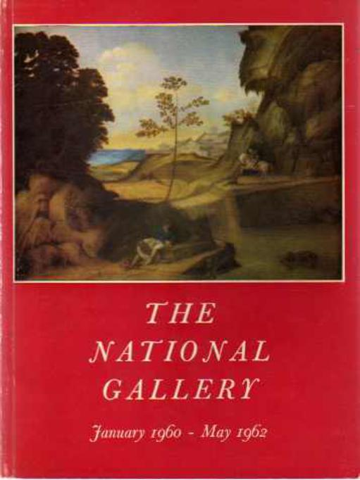 Image for The National Gallery, January 1960- May 1962